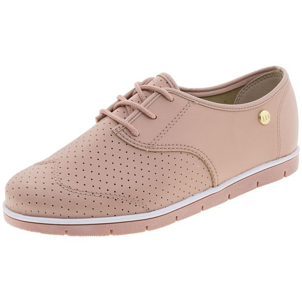 a20de9d7f Sapato Feminino Oxford Rosa Moleca - 5613304 - cloviscalcados
