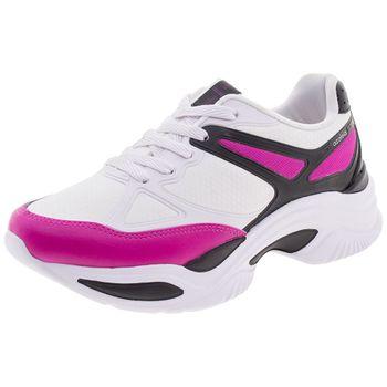 ca2c2ddb8 Tênis Feminino Chunky Trainer Preto/Pink Azaleia - 885/523 ...