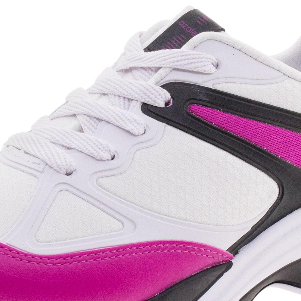 afece41eae3 Tênis Feminino Chunky Trainer Preto Pink Azaleia - 885 523 - cloviscalcados