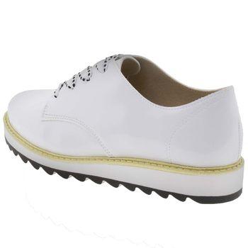 7867bab8b Sapato Infantil Feminino Oxford Branco Molekinha - 2510416 ...