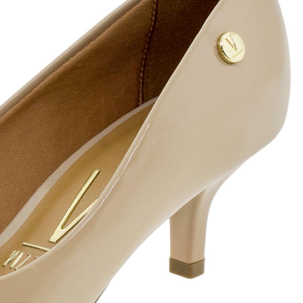 4dbf873723 Sapato Feminino Scarpin Salto Baixo Vizzano - 1122628 - cloviscalcados