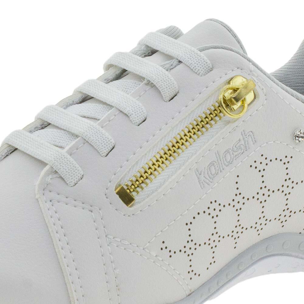 49a01b24b46 Tênis Feminino Sport Style Kolosh - C1282r Branco - cloviscalcados