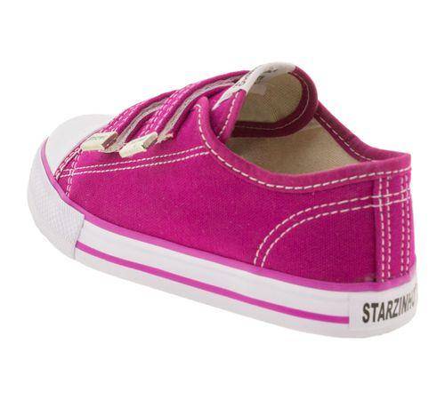 679fec4b89e Starzinho. Tênis Infantil Feminino Pink ...
