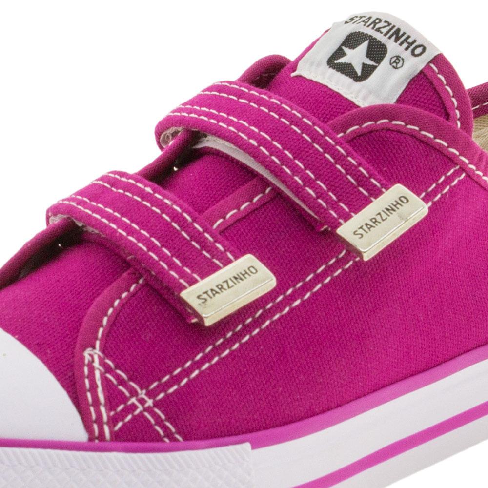76a40388d38 Tênis Infantil Feminino Pink Starzinho