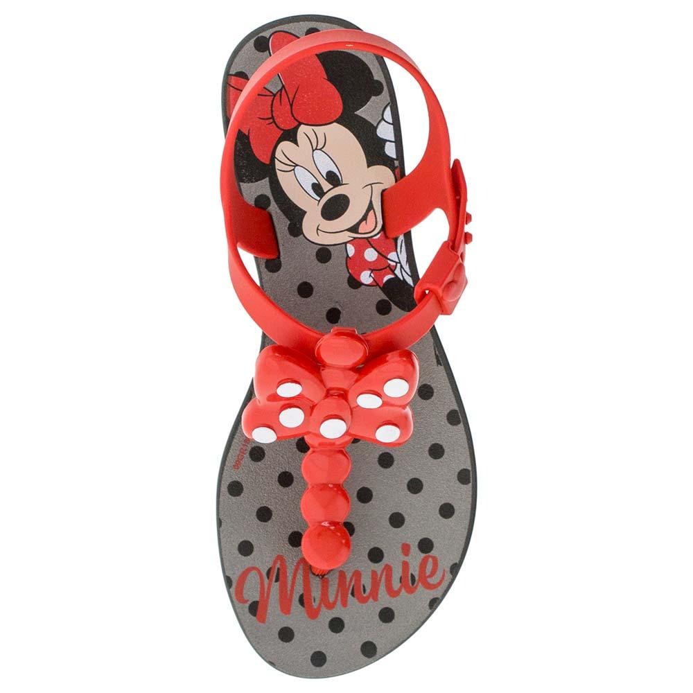 c97709f57 Sandália Feminina Infantil Minnie Grendene Kids - 21887 Preto/vermelho -  cloviscalcados