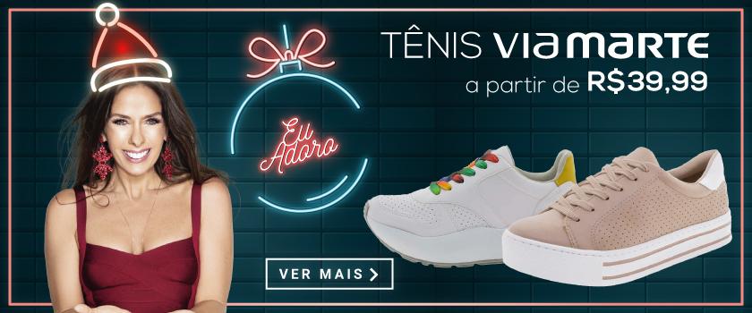 Tênis-Via-Marte-Natal