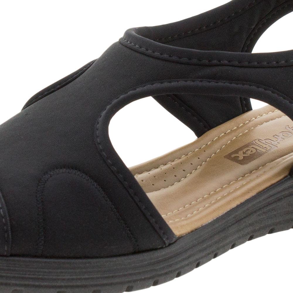 e92bec4b7 Sandália Feminina Salto Baixo Comfortflex - 1751405 - cloviscalcados