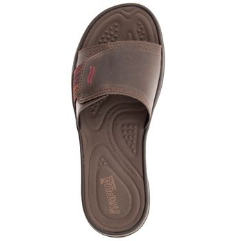 c2b52c2ca Chinelo Masculino Slide Chocolate Itapuã - 18501C17 - cloviscalcados