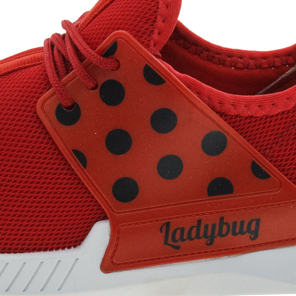 6eb114d1dd Tênis Infantil Feminino Ladybug Vermelho Grendene Kids - 21744 -  cloviscalcados