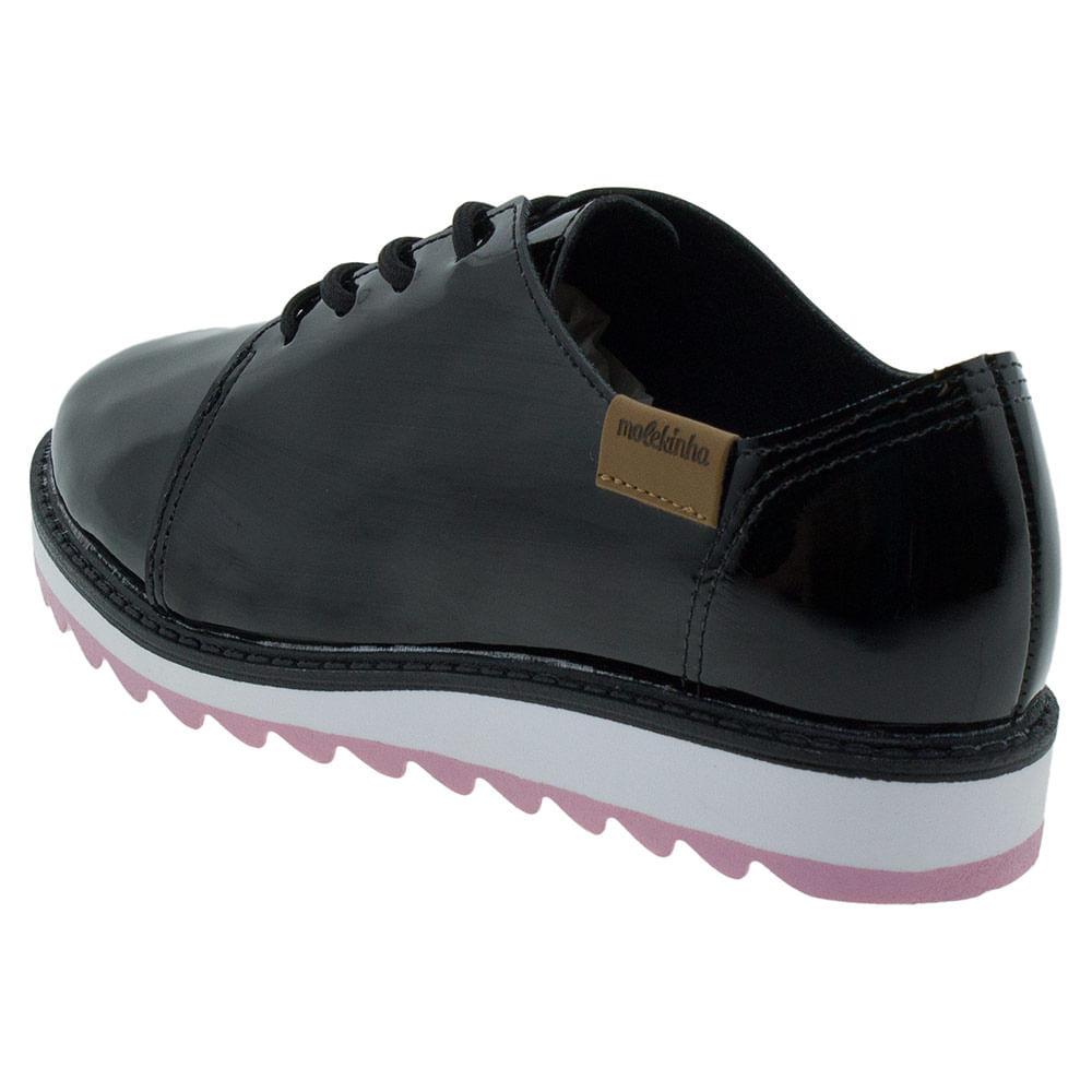 aee02a010 Sapato Infantil Feminino Oxford Molekinha - 2510611 - cloviscalcados