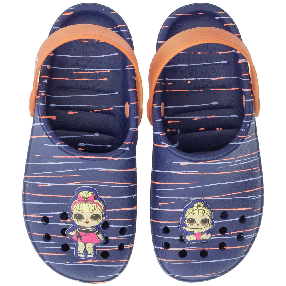 636f39643 Clog Infantil Feminino Lol Surprise Grendene Kids - 21891 Azul rosa -  cloviscalcados