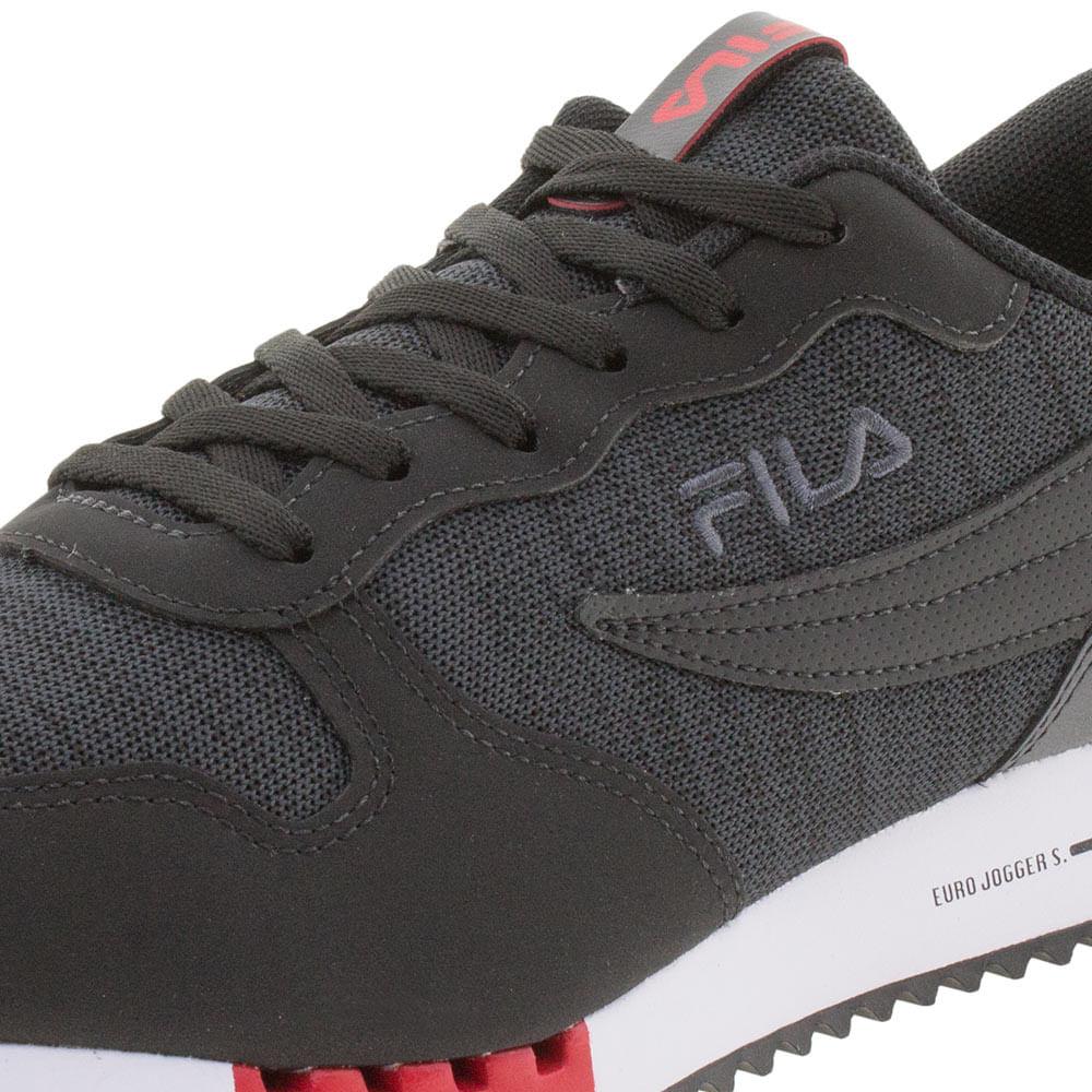 c44266f6aa9 Tênis Masculino Euro Jogger Sport Fila 11u335x - cloviscalcados