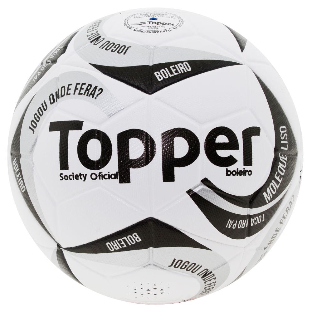 9afbff1797 Kit 1chuteira Masculina Titanium Topper + 1 Chuteira de Campo Toper + Bola  Futebol Society + - 4131190 Preto - cloviscalcados