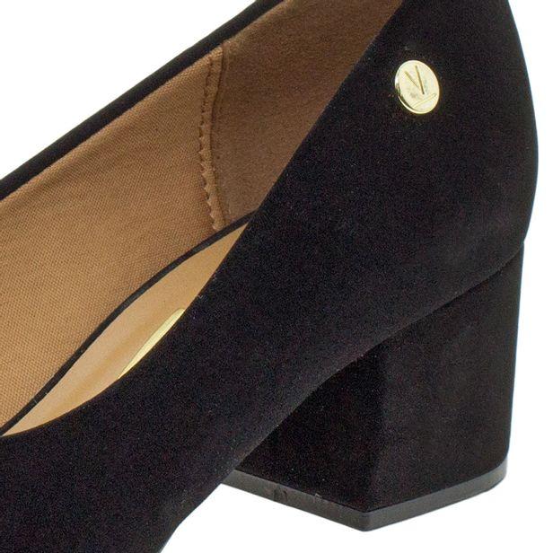 2df47829b7 Sapato Feminino Salto Baixo Vizzano - 1220224 Preto - cloviscalcados