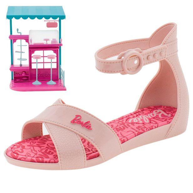 8132864e1 Sandália Infantil Feminina Barbie Confeitaria Grendene Kids - 21921 -  cloviscalcados