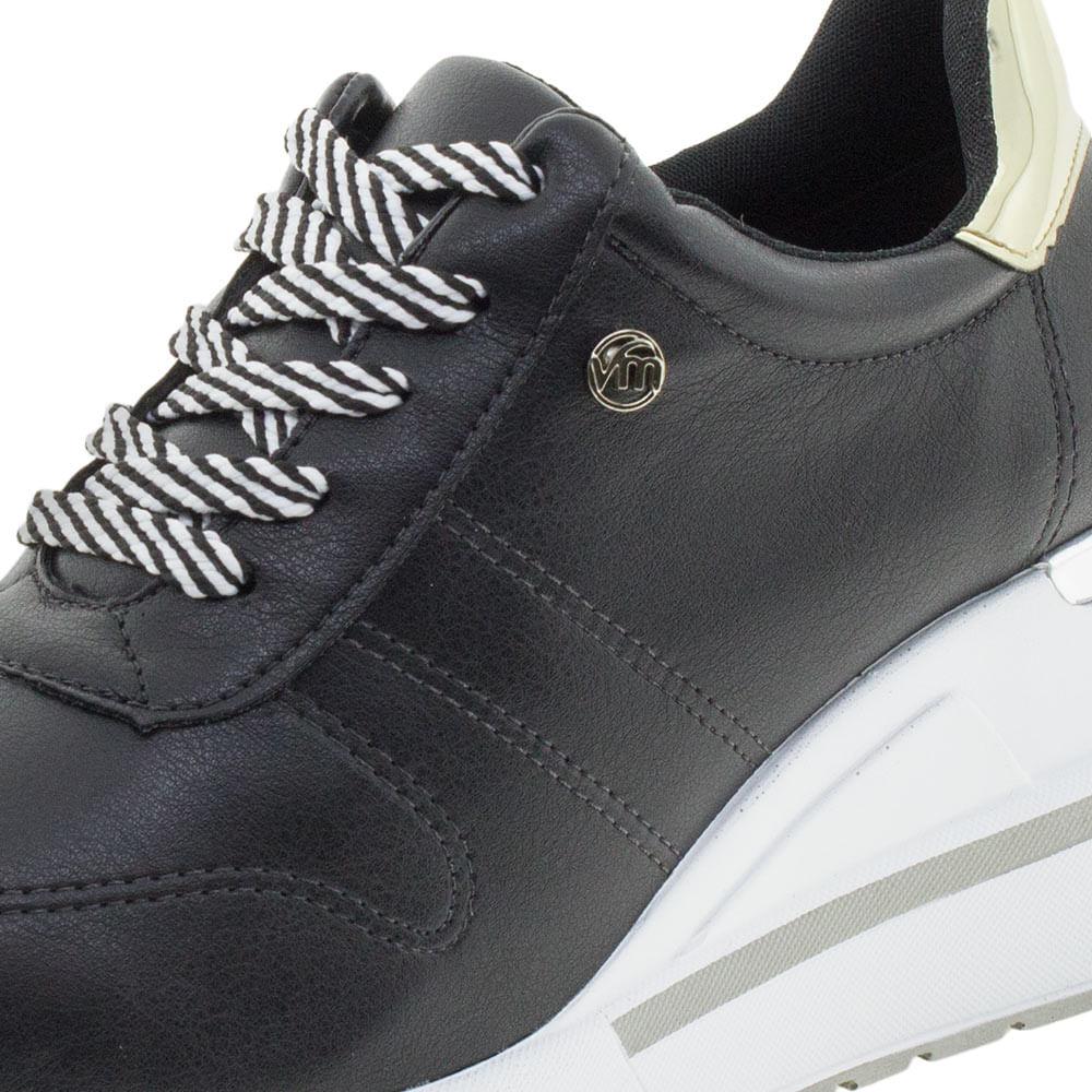 f087c9c32c7 Tênis Feminino Sneakers Via Marte - 193322 Preto - cloviscalcados