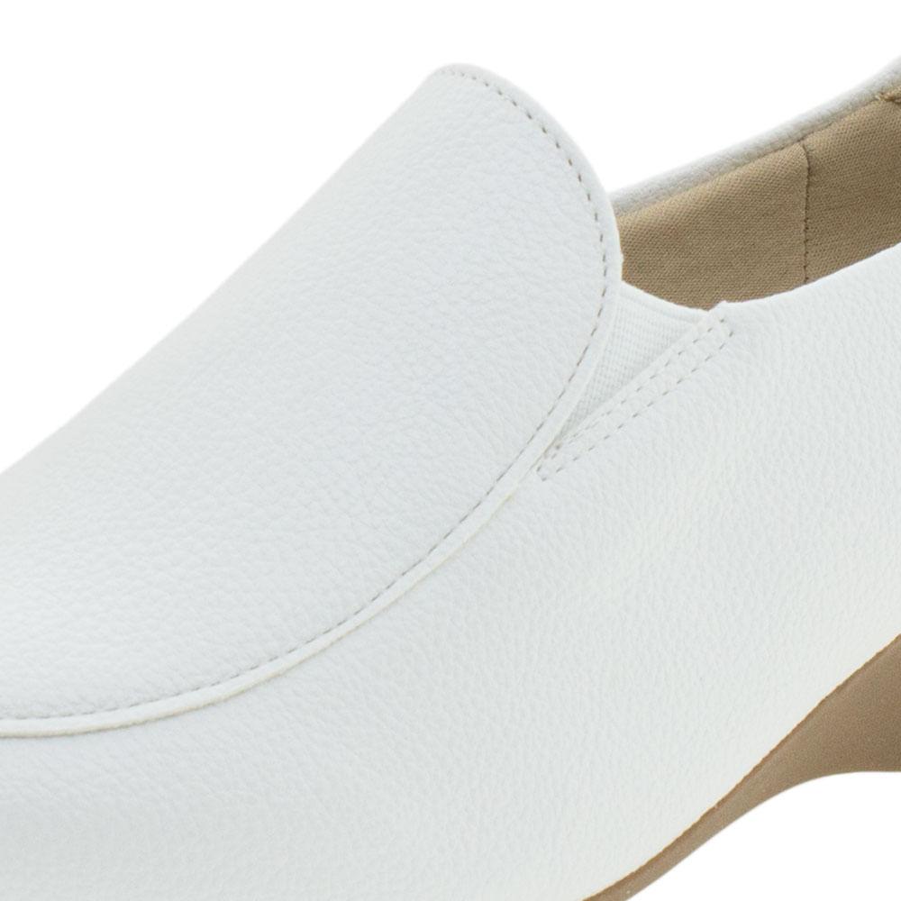f06774898 Sapato Feminino Anabela Modare - 7014248 Branco - cloviscalcados