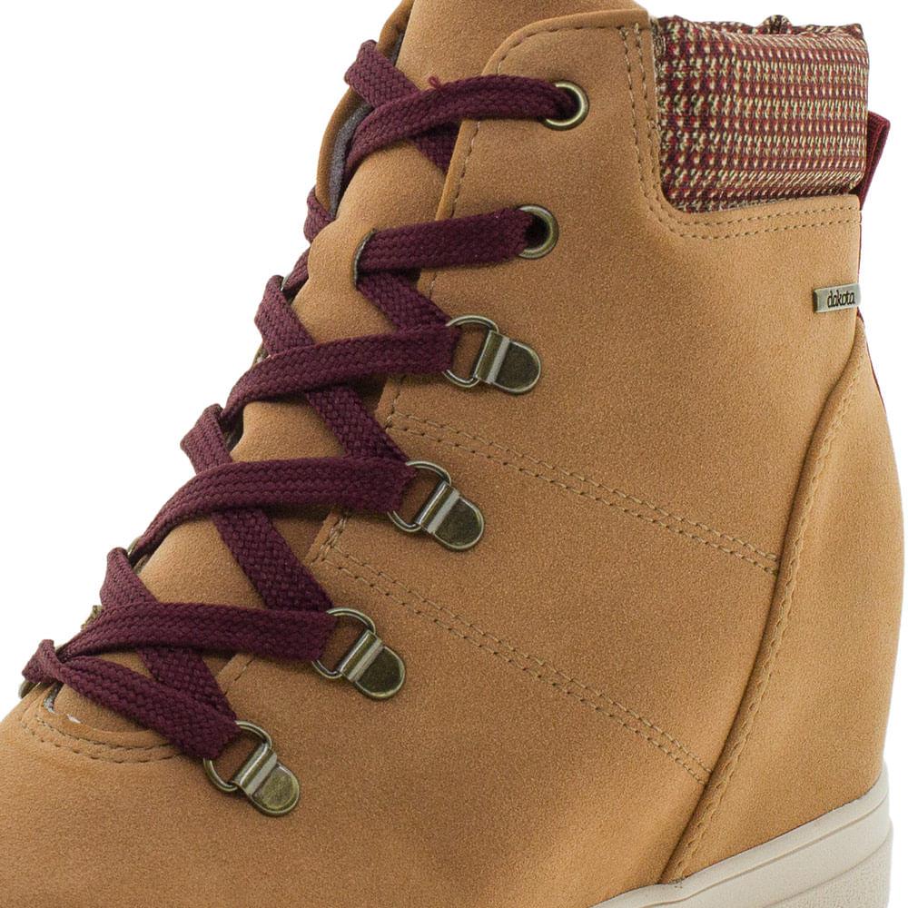 e7026f8ad7 Tênis Feminino Sneaker Dakota - G0791 Camel - cloviscalcados