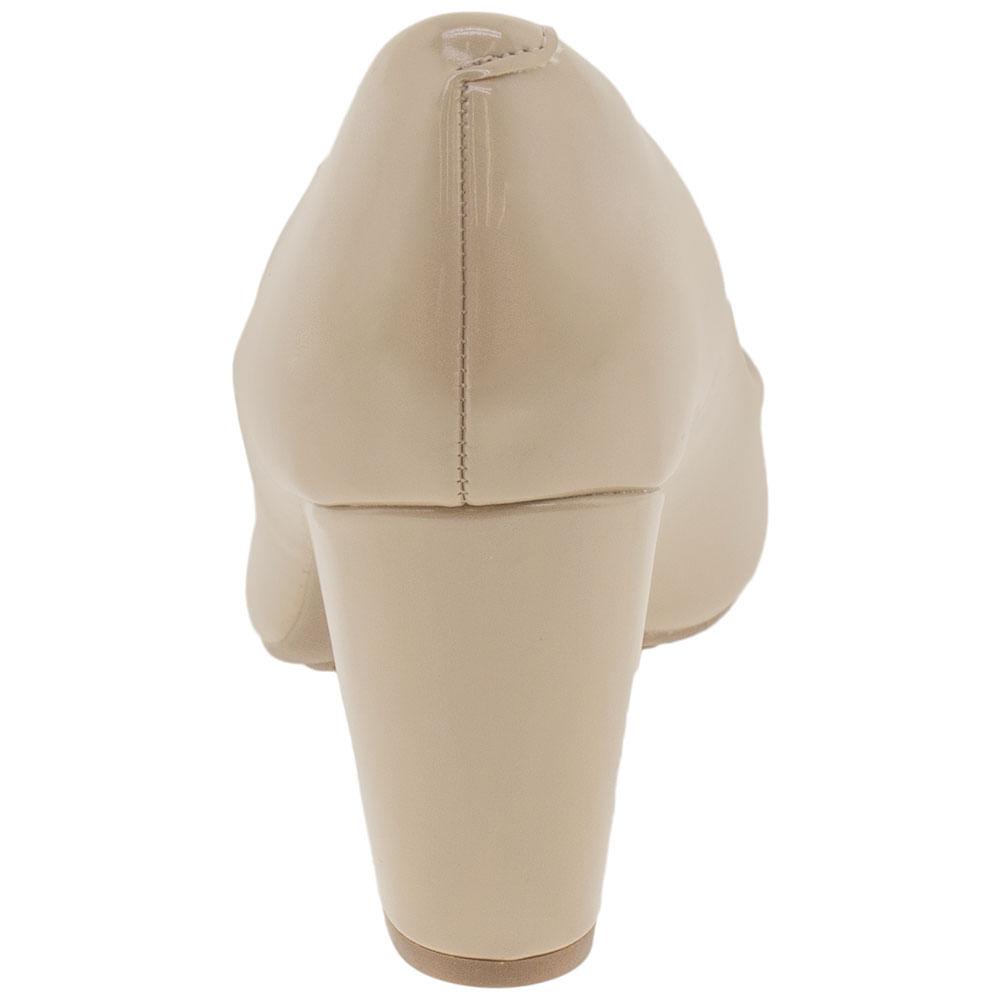 84631d272 Sapato Feminino Salto Médio Moleca - 5300300 - cloviscalcados