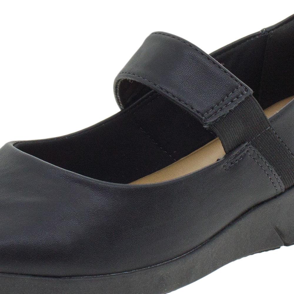 72f02c1a0 Sapato Feminino Salto Baixo Comfortflex - 1964303 Preto - cloviscalcados