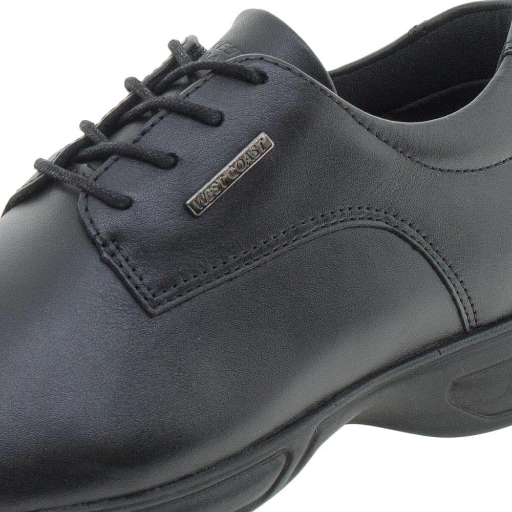 73e36e02d Sapato Masculino Social West Coast - 188702 Preto - cloviscalcados