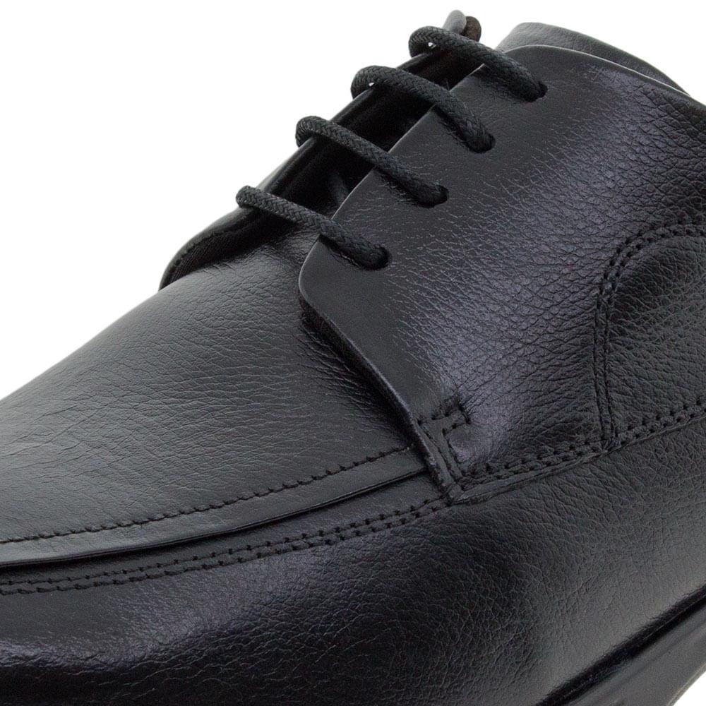 12255f6a4 Sapato Masculino Social Preto Democrata | Clovis - 448022 - cloviscalcados